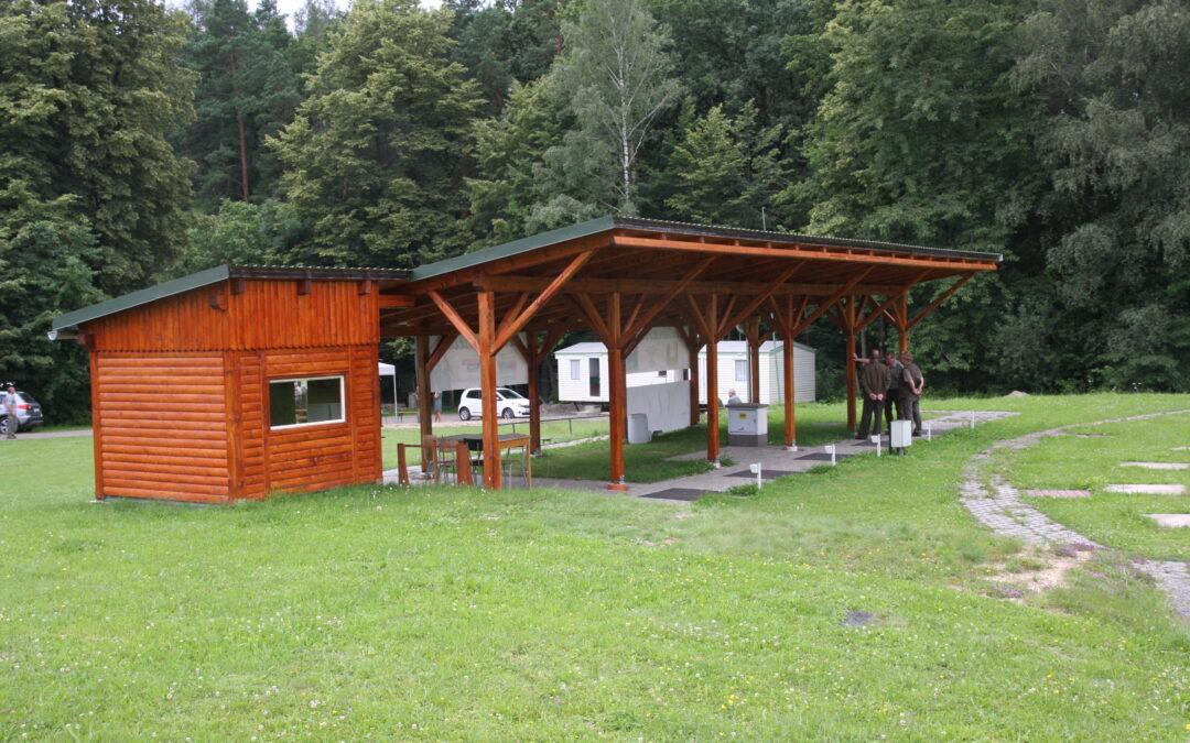 Otevření rekonstruované střelnice