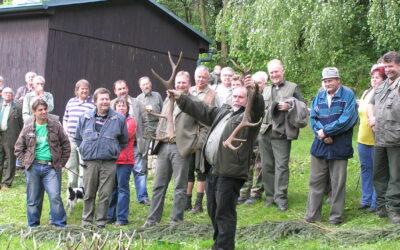 Výstava jeleních shozů – MS Dobré 2010