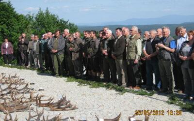 Výstava jeleních shozů – Zieleniec 2012